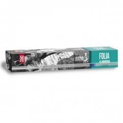 Envoltura de papel de aluminio con cortador - 50 m -
