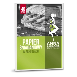 Wax paper sheets - for sandwiches - 40 pcs