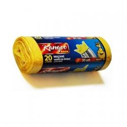 Bolsas para papeleras amarillas - 20 litros - 30 uds. -