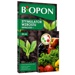 Improver+ - growth booster for all kinds of plants - BIOPON® - 20 ml