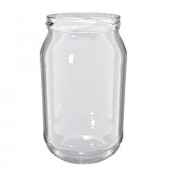 Glass twist-off jars, type fi 82 - 900 ml - 8 pcs