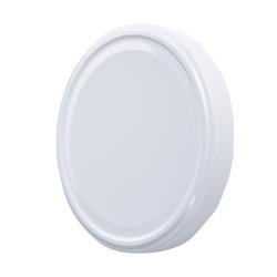 Fehér üveg fedél - ø 100 mm -