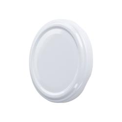 Fehér üvegedény - ø 89 mm -