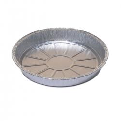 Round aluminium cake tin for cheesecakes and yogurt cakes - 635 ml - 5 pcs