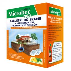 Bros - Microbec Ultra - Jama, obdelava greznice - Veliko pakiranje - 20 zavihkov -