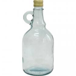 Keeratava korgiga Gallone pudel - 1 liiter -