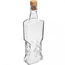 Korgiga puhvetipudel - 500 ml -