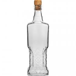 Büfé palack parafával - 500 ml -