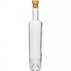 Marina pudel korgiga - valge - 500 ml -