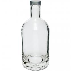 "Botella ""Miss Barku"" (Miss Cocktail Cabinet) con tapón giratorio - blanco - 700 ml -"