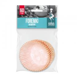 Ornamental muffin moulds - 60 pcs