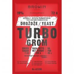 Levadura de destilería Turbo - Grom 72 h - 120 g -