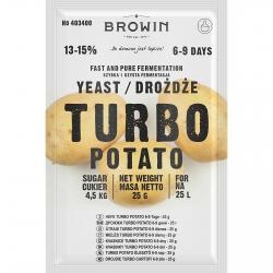 Destilleerija pärm Turbo - kartul - 25 g -