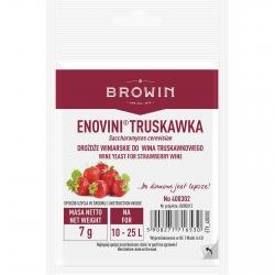 Levadura seca para vino de fresa - Enovini - 7 g -