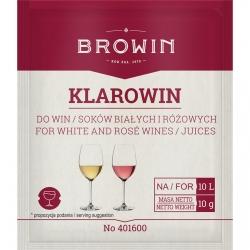 Klarowin - осветлитель вина, осветлитель для белых и розовых вин - 10 г -
