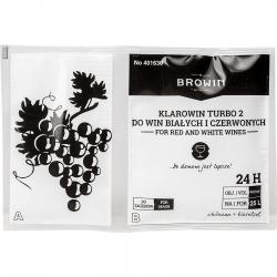 Klarowin Turbo 2 veini peenestamine, selgitav aine - kitosaan + kiselsool - 15 g + 50 g -