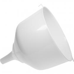 Embudo de plástico con borde elevado - fi 25 - para garrafones y damajuanas -