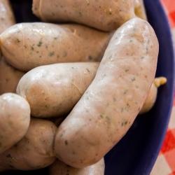 Embutidora horizontal para salchichas, kabanos, salami y otras conservas de carne - para 4 kg de carne -