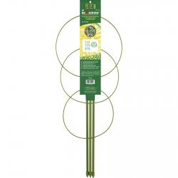 3 gredzenu augu balsts, dārza režģis - 0,5 m -