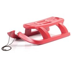 Trineo, trineo, deslizador de nieve Flecha - rojo -