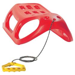 Trineo, trineo, deslizador de nieve Little Seal - rojo -