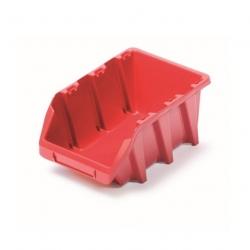 Skrinka na náradie, dielenský podnos Bineer Long - 11,8 x 19,8 cm - červená -