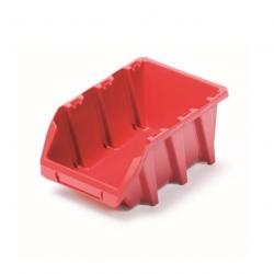Skrinka na náradie, dielenský podnos Bineer Long - 15,8 x 24,9 cm - červená -