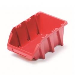Skrinka na náradie, dielenský podnos Bineer Long - 7,7 x 12 cm - červená -