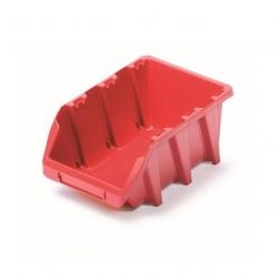 Skrinka na náradie, dielenský podnos Bineer Long - 9,8 x 16 cm - červená -