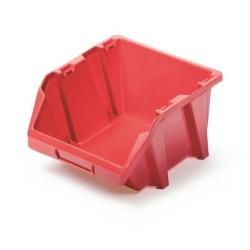 Skrinka na náradie, dielenský podnos Bineer Short - 11,8 x 14,4 cm - červená -