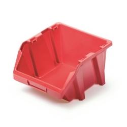 Skrinka na náradie, dielenský podnos Bineer Short - 15,8 x 18,7 cm - červená -