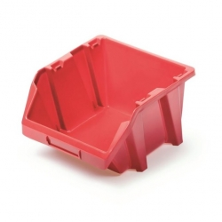 Toolbox, workshop tray Bineer Short - 7.7 x 9.2 cm - red