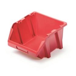 Skrinka na náradie, dielenský podnos Bineer Short - 9,8 x 11,8 cm - červená -