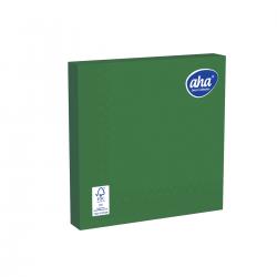 Papīra galda salvetes - 33 x 33 cm - AHA - 20 gab. - zaļas -