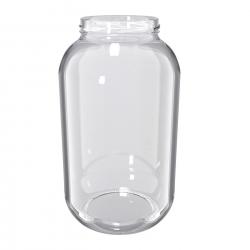 Glass twist-off jar, mason jar - fi 100 - 4.25 l