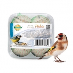 Winter bird fodder - set of small fodder balls for tits - Planta - 4 pieces