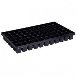 Bandeja de siembra, multipot con borde desplegable - capacidad ampliada - 66 celdas - 50 uds. -