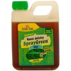 Thuja ja arborvitae väetis - kastekannu täitepakend - Zielony Dom® - 950 ml -