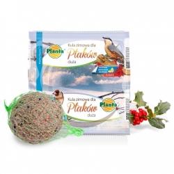 Zimska krma za ptice - velika krogla - Planta - 220 g -
