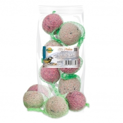 Winter bird fodder - braid-shaped fodder ball selection - Planta - 6 pieces