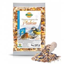 Ziemas putnu barība - vaļīgi graudi - Planta - 1 kg -