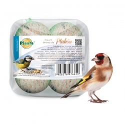 Winter bird fodder - set of large fodder balls for tits - Planta - 4 pieces