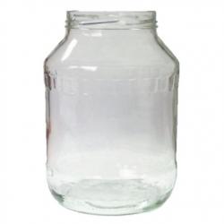Glass twist-off jar, mason jar - fi 100 - 2.65 l