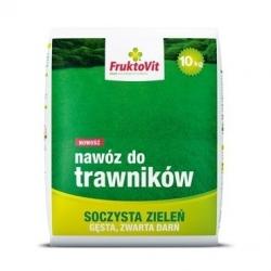 Lawn fertilizer - juicy green, thick, compact turf - Fruktovit Plus - 10 kg