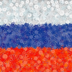 Bendera Rusia - benih 3 varietas -  - biji