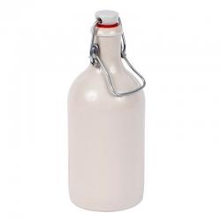 Botella de gres con cierre hermético - 0.5 l - ideal para cervezas y licores caseros -