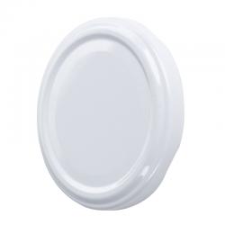 White twist-off jar lids - ø 89 mm - 20 pcs