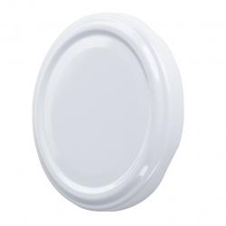 White twist-off jar lids - ø 89 mm - 100 pcs