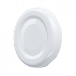 White twist-off jar lids - ø 82 mm - 20 pcs
