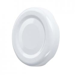 White twist-off jar lids - ø 82 mm - 100 pcs